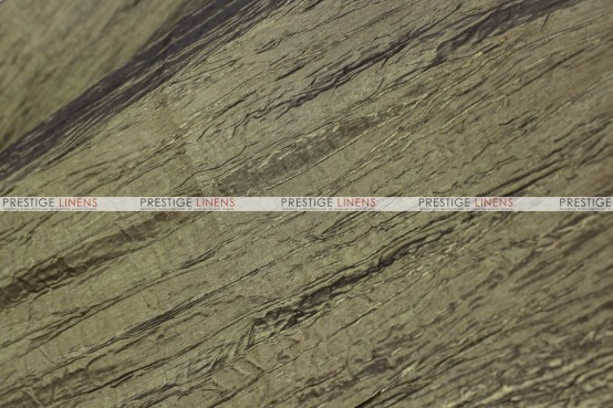 Crushed Taffeta - Fabric by the yard - 180 Dk Olive
