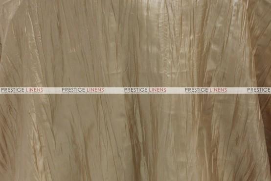Crushed Taffeta - Fabric by the yard - 200 Khaki