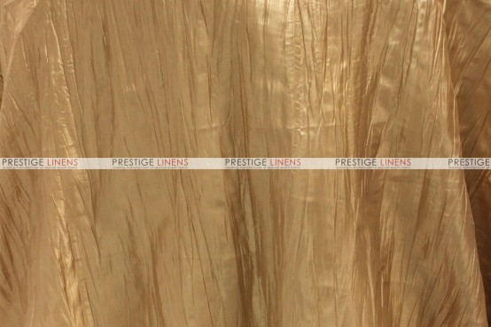 Crushed Taffeta - Fabric by the yard - 226 Gold
