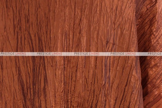 Crushed Taffeta - Fabric by the yard - 368 Terracotta
