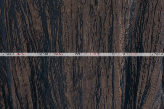 Crushed Taffeta - Fabric by the yard - 400 Chocolate