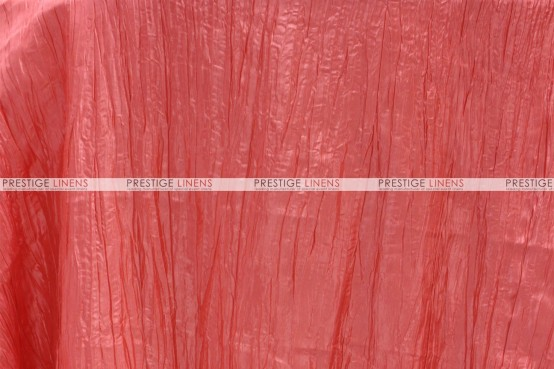 Crushed Taffeta - Fabric by the yard - 444 Lt Coral