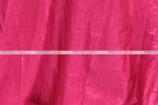 Crushed Taffeta - Fabric by the yard - 528 Hot Pink