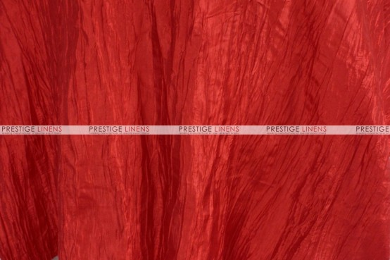 Crushed Taffeta - Fabric by the yard - 626 Red