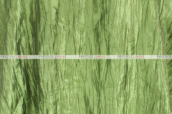 Crushed Taffeta - Fabric by the yard - 737 Apple Green