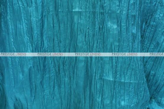 Crushed Taffeta - Fabric by the yard - 738 Teal