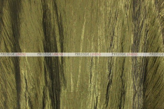 Crushed Taffeta - Fabric by the yard - 830 Olive