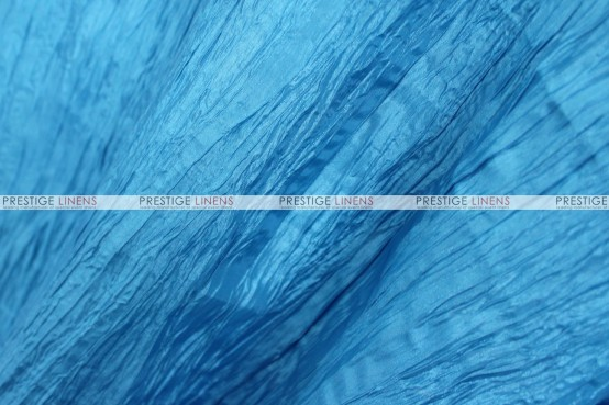 Crushed Taffeta - Fabric by the yard - 932 Turquoise