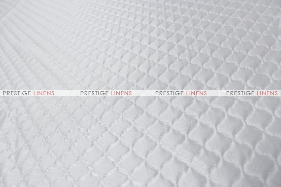 Curtis - Fabric by the yard - White