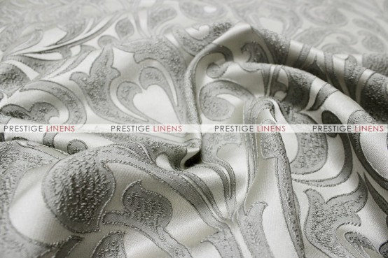 Delta Damask - Fabric by the yard - Grey