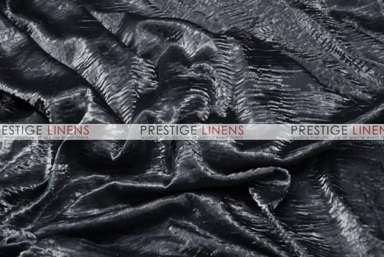 Iridescent Crush Draping - Black