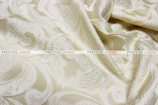 Delta Damask - Fabric by the yard - Ivory