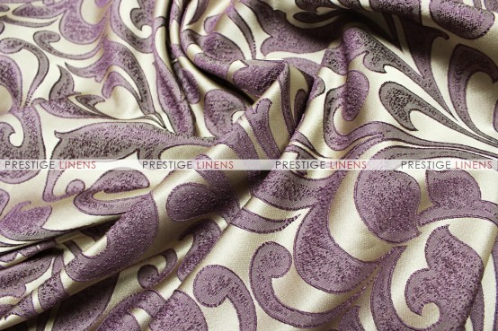 Delta Damask - Fabric by the yard - Purple
