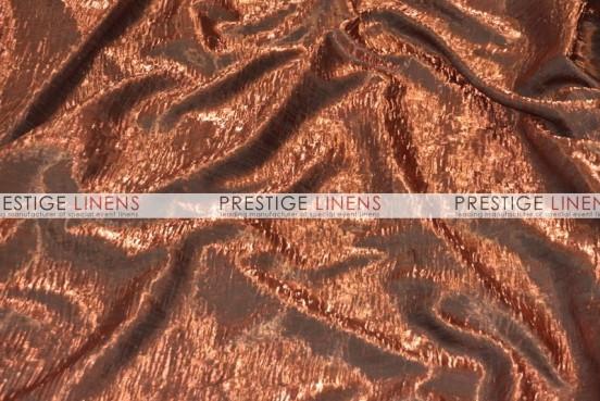 Iridescent Crush Draping - Copper