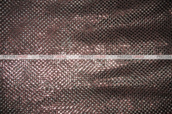 Dot Sequins 3mm - Fabric by the yard - Brown