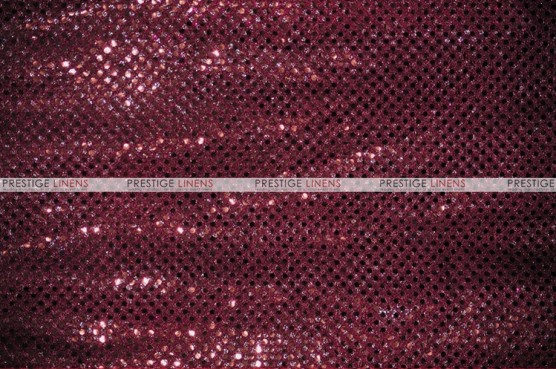 Dot Sequins 3mm - Fabric by the yard - Burgundy