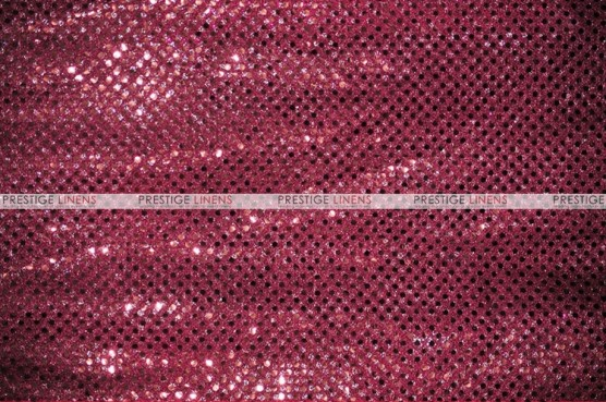 Dot Sequins 3mm - Fabric by the yard - Cranberry