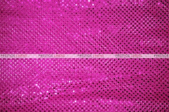 Dot Sequins 3mm - Fabric by the yard - Fuchsia