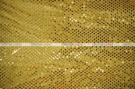 Dot Sequins 3mm - Fabric by the yard - Gold