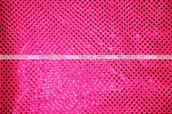 Dot Sequins 3mm - Fabric by the yard - Neon Fuchsia