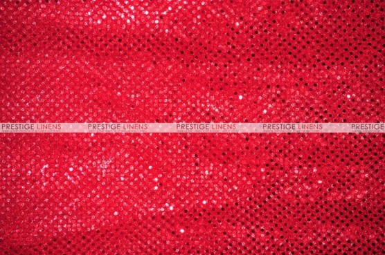 Dot Sequins 3mm - Fabric by the yard - Red