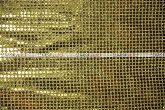 Dot Sequins 6mm - Fabric by the yard - Gold