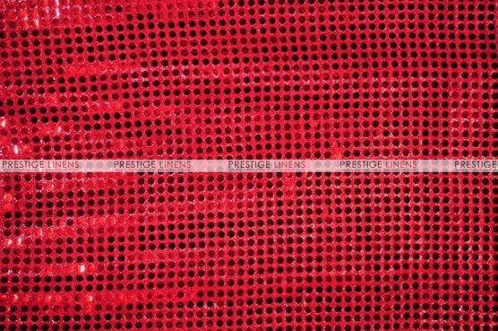 Dot Sequins 6mm - Fabric by the yard - Red