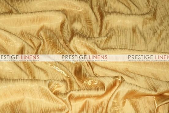 Iridescent Crush Draping - Gold