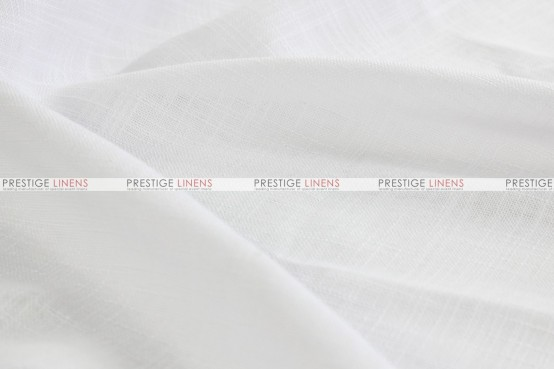 Dublin Linen - Fabric by the yard - White