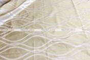 Eliptical Jacquard - Fabric by the yard - Ivory