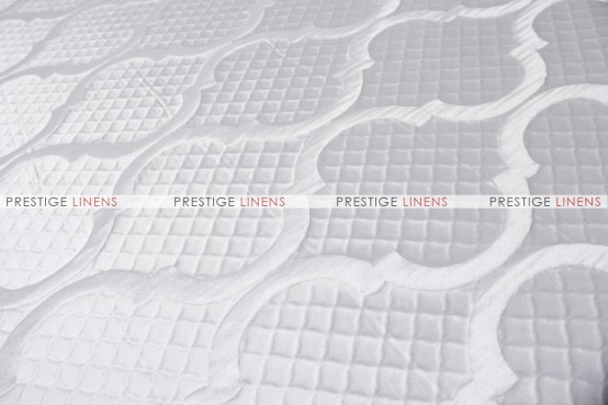 Embrace - Fabric by the yard - White