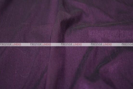 Faux Silk Dupioni - Fabric by the yard - 1138 Plum