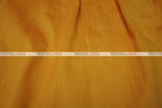 Faux Silk Dupioni - Fabric by the yard - 2014 Fire Orange