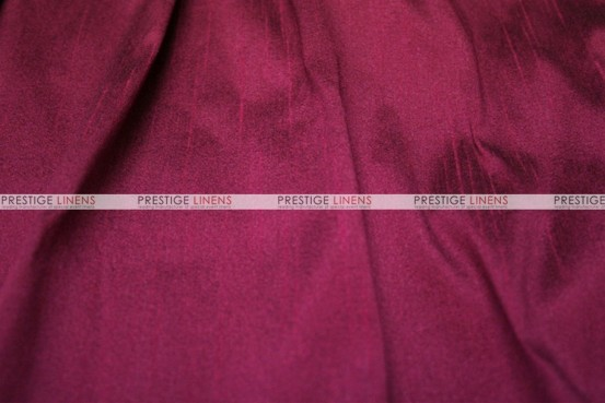Faux Silk Dupioni - Fabric by the yard - 2028 Raspberry