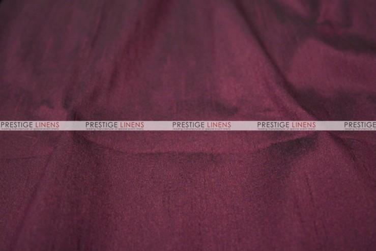 Faux Silk Dupioni - Fabric by the yard - 2101 Eggplant