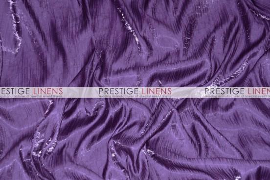 Iridescent Crush Draping - Plum