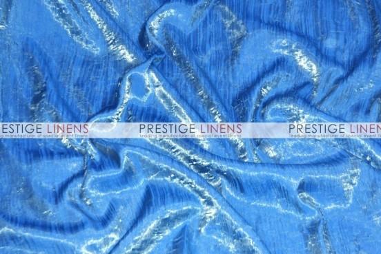 Iridescent Crush Draping - Slate Blue