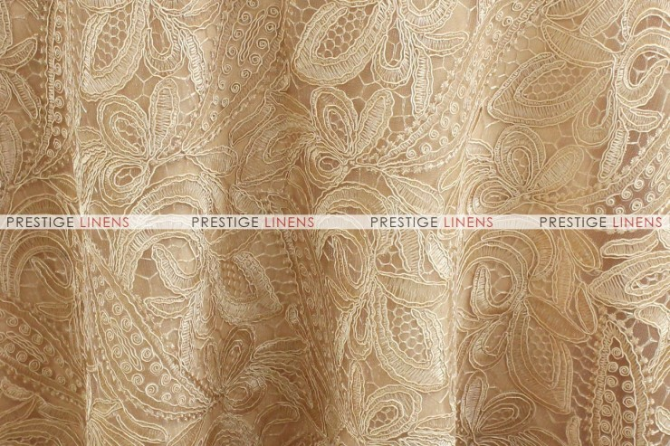 French Lace - Fabric by the yard - Antique