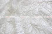 French Lace - Fabric by the yard - Ivory