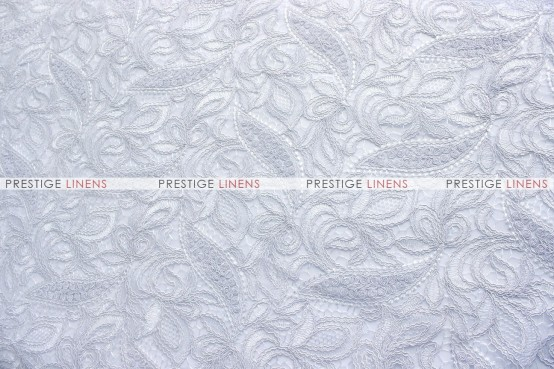 French Lace - Fabric by the yard - White
