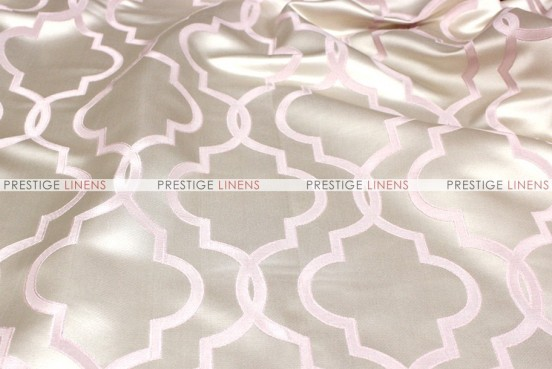 Gatbsy Jacquard - Fabric by the yard - Blush