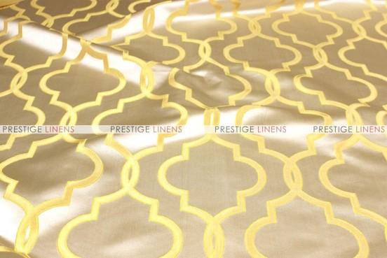 Gatbsy Jacquard - Fabric by the yard - Mustard