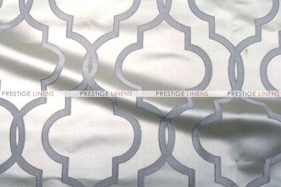 Gatbsy Jacquard - Fabric by the yard - Silver