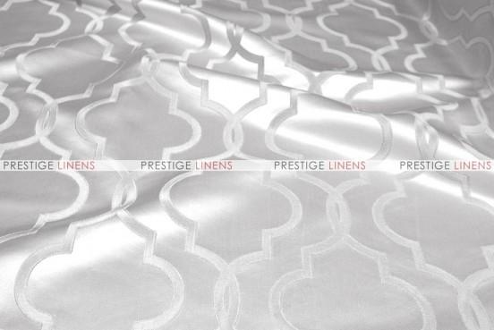 Gatbsy Jacquard - Fabric by the yard - Snow