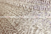 Gatsby Sequins - Fabric by the yard - Champagne