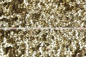 Gatsby Sequins - Fabric by the yard - Gold