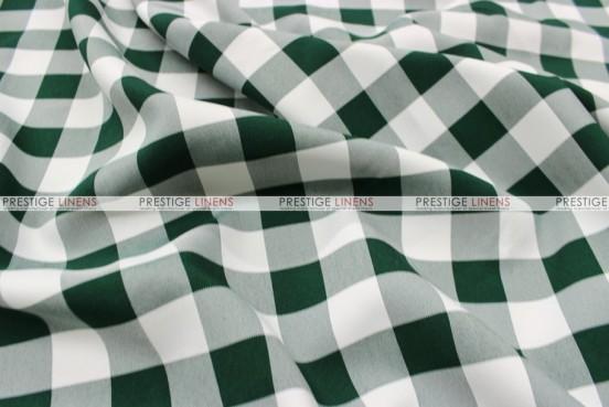 Gingham Buffalo Check - Fabric by the yard - Hunter