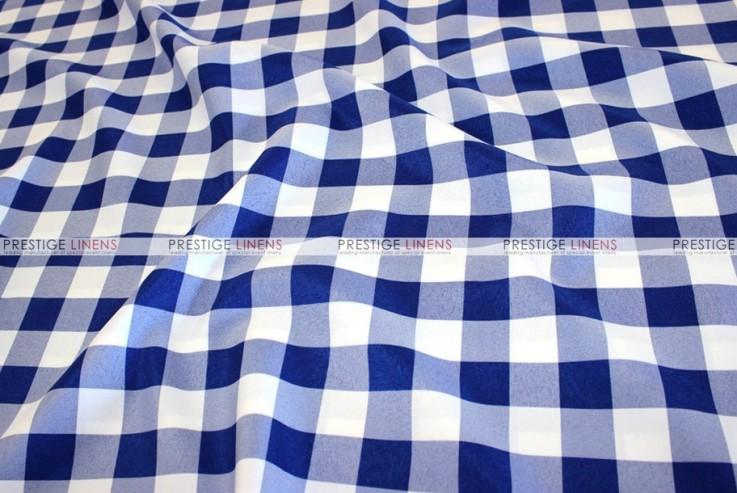 Gingham Buffalo Check - Fabric by the yard - Royal