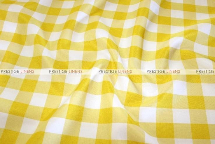 Gingham Buffalo Check - Fabric by the yard - Yellow