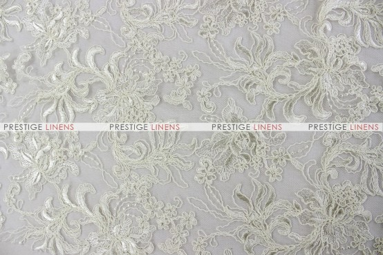 Giselle Net Embroidery - Fabric by the yard - Off White